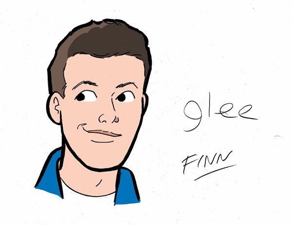"""The """"Glee"""" Cast Gets Their Archie Makeover - Finn"""