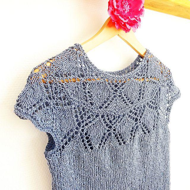 Knitting Summer Top : Best knit summer tops images on pinterest knitting