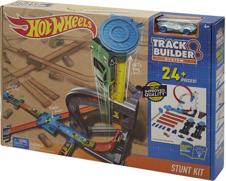 HW Track Builder Startovací sada - 900 Kč, NEMÁ LOOPING, JEN OTÁČÍ DO VĚŽE, SPÍŠ NE