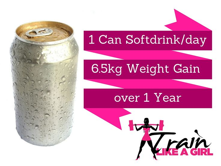 It's the little things that count every day! #trainlikeagirl #softdrink
