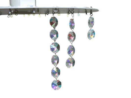 Lustre de bijuterias - Portal de Artesanato - O melhor site de artesanato com passo a passo gratuito