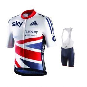 2013 Great Britain Team Cycling Kit jersey + bib shorts