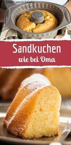 Saftiger Sandkuchen wie bei Oma