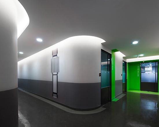 35 best images about office lighting on pinterest for Colores para oficinas modernas