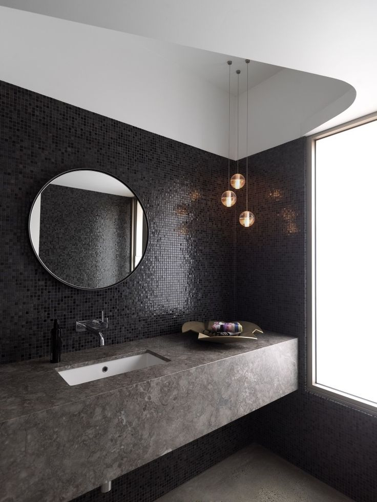 Gallery of balcony over bronte luigi rosselli architects - Round mirror over bathroom vanity ...