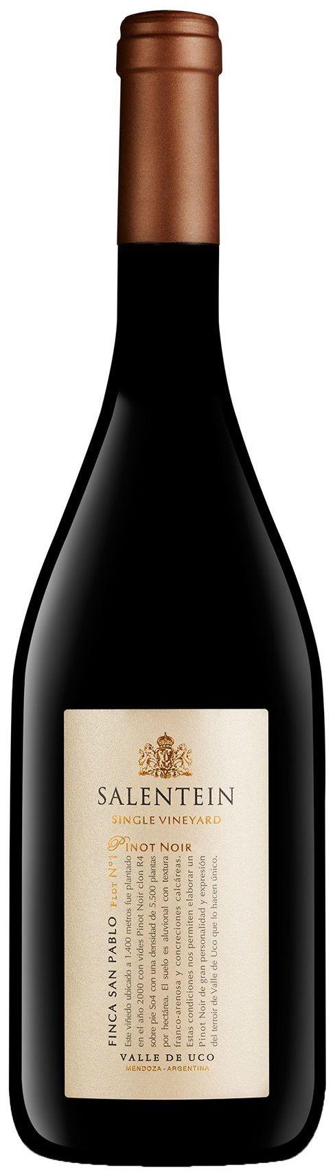 """""""Salentein Single Vineyard"""" Pinot Noir 2013 - Bodega Salentein, Tunuyán, Mendoza----------------Terroir: Los Árboles (Tunuyán)-----------Crianza: 10 meses en barricas de roble francés"""