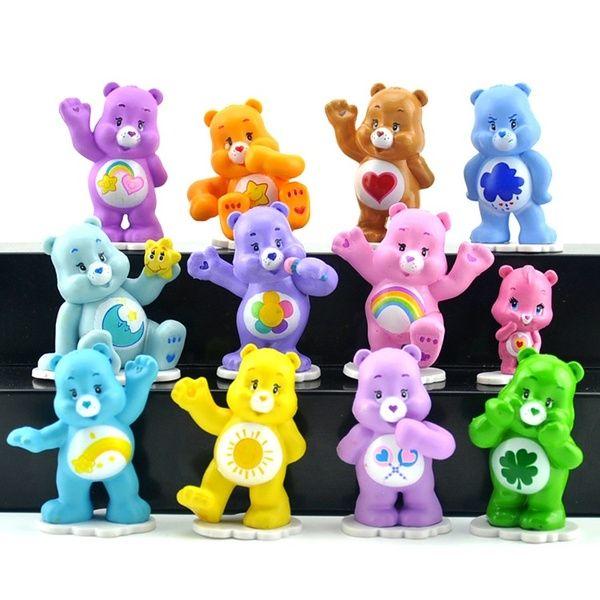 12pcs Trolls Cake topper figurines Action Figures Boy Girl KidsToy Set