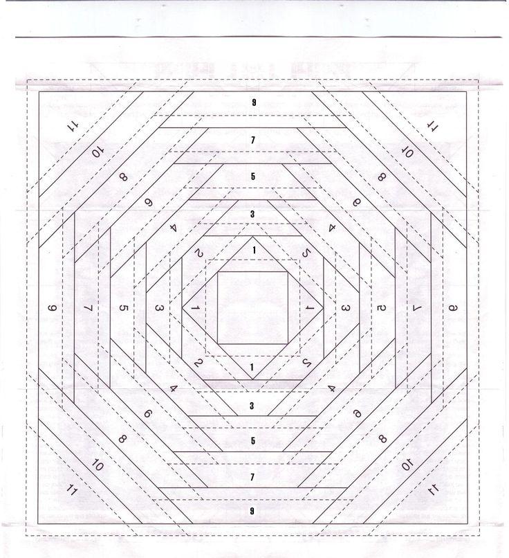 115 besten Paper piecing patterns Bilder auf Pinterest   Quiltblöcke ...