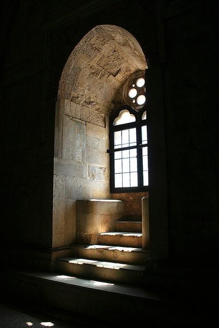 Old Window at Castel del Monte, Andria, Italy