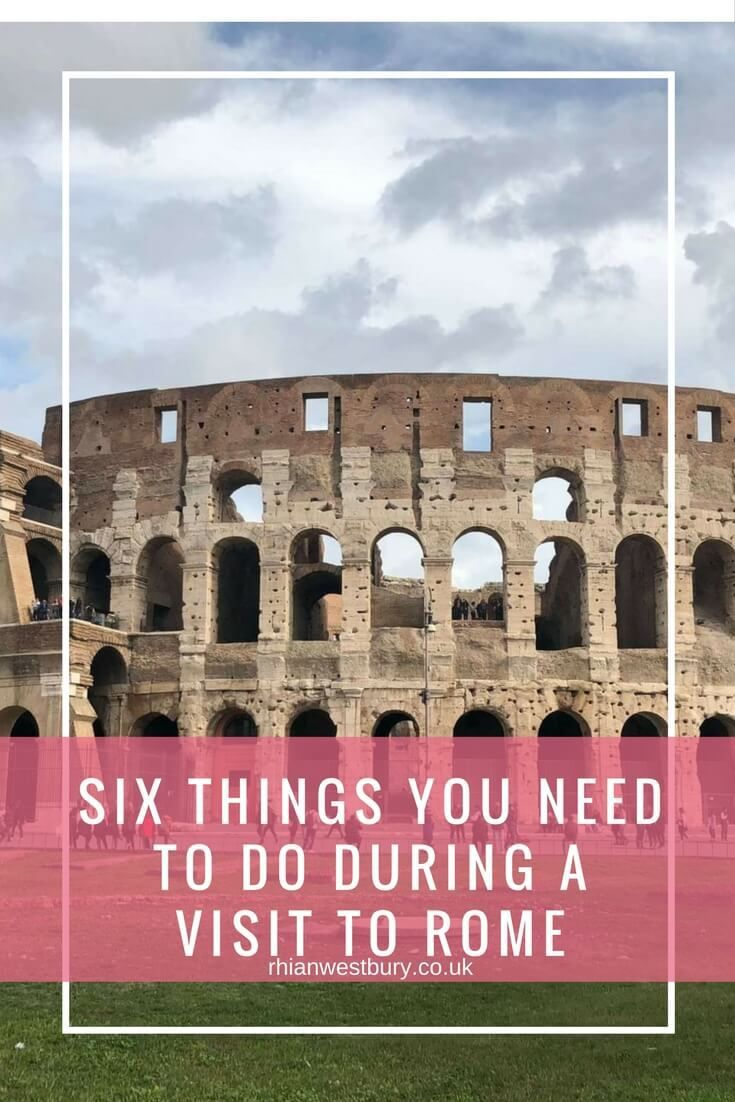 There's a lot of exciting things you can do in Rome but if you're heading to the Roman city here are six things you have to do during your stay