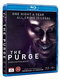 Recension av The Purge. Skräck/Thriller av James DeMonaco med Ethan Hawke, Lena Headey, Max Burkholder och Adelaide Kane.