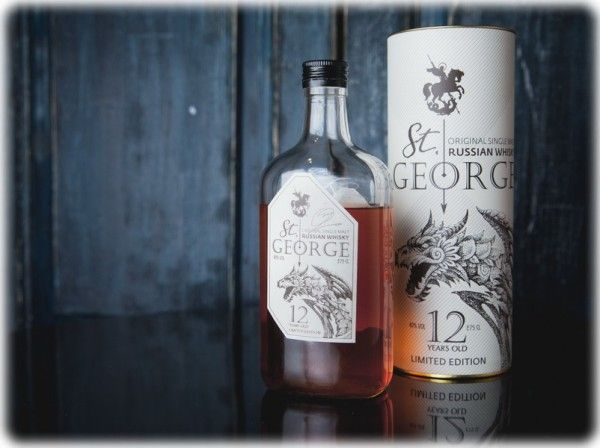St. George 12 yo limited edition russian single malt, 40%