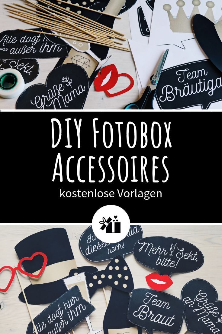 Diy Fotobox Accessoires Kostenlose Vorlagen Zum Downloaden Fotobox Kostenlose Vorlagen Diy Fotobox Hochzeit