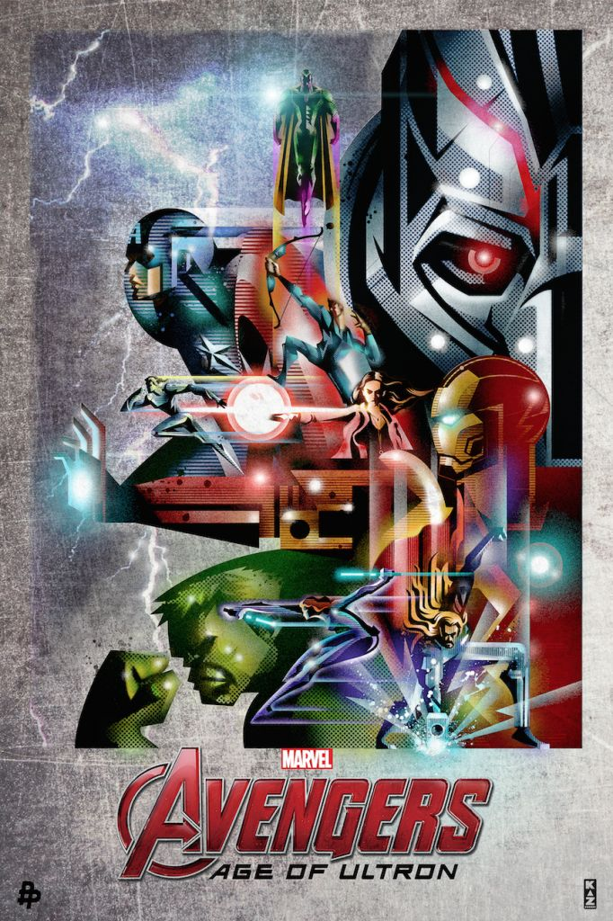 Poster Posse – Avengers : Age of Ultron Project