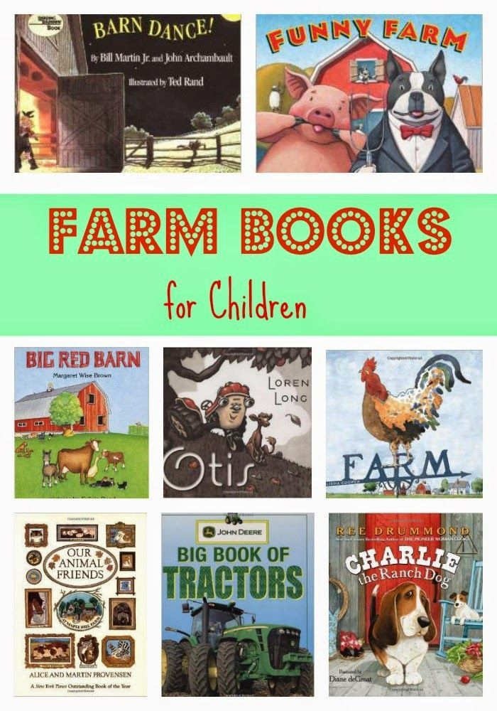 Farm Books for Children || The Chirping Moms