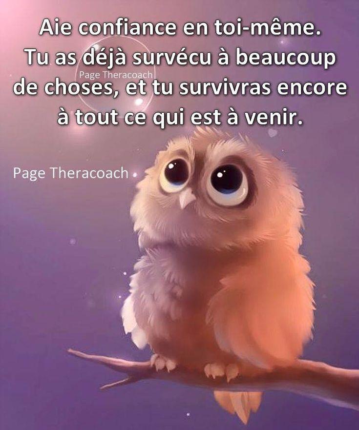 Aie confiance en toi-même. #citation #citationdujour #proverbe #quote #frenchquote #pensées #phrases #french #français