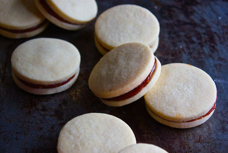 Alfajores Cookies… The only thing that Argentineans love more than hefty pieces of steak and strong coffee is alfajores. Sophia Real from Real Simple Food saves us a trip to South America by teaching us how to make them at home.