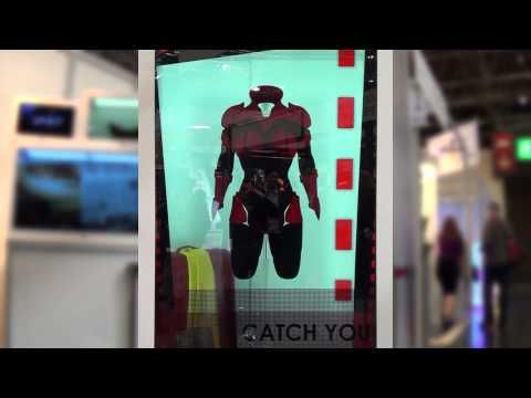 84 Inch Ultra-HD Transparent LCD Screen - see-through 4K Display - YouTube