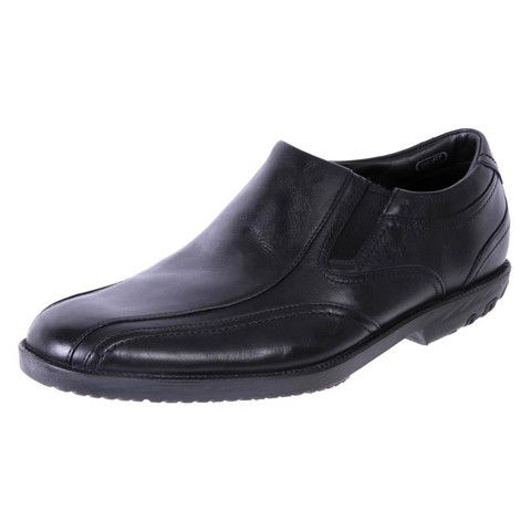 Rockport Men's Comfort Leather slip on Shoes Dressport black