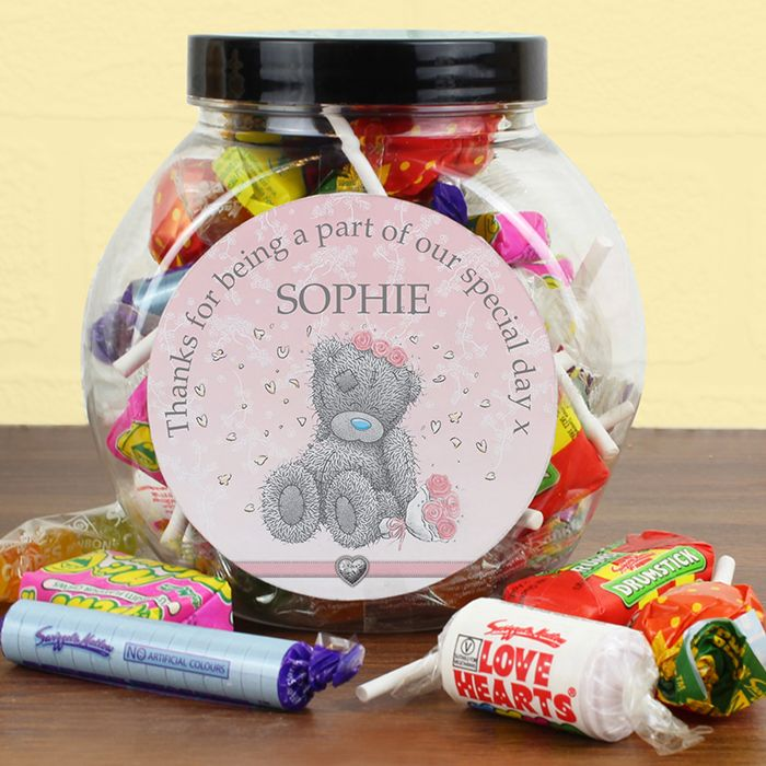 27 best personalised wedding guest favours images on pinterest personalised sweet jars great little stocking filler for christmas easter wedding guest favours personalised with a name and message negle Gallery