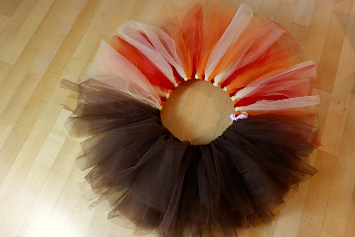 Make your own Turkey Trot tutu #diy