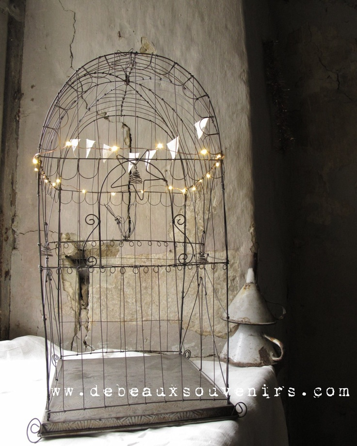 Big Bird cage in wire----- Grand Palais. $433.00, via Etsy. OMGGG