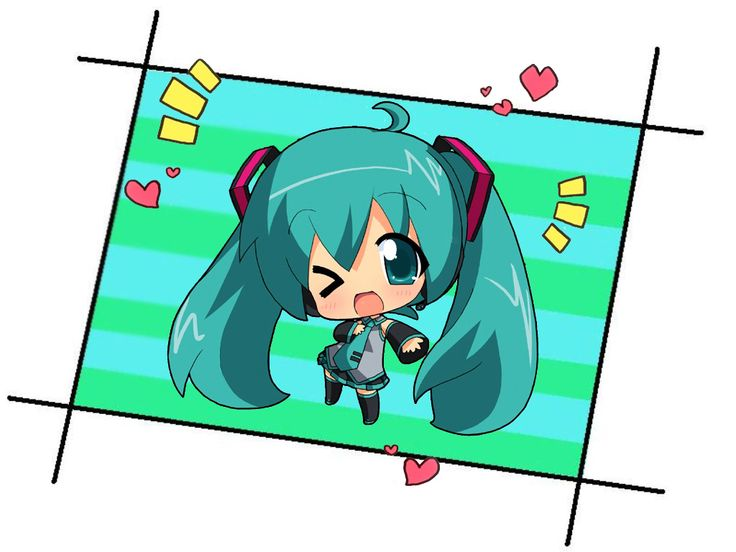 vocaloids imágenes Miku Hatsune chibi HD fondo de pantalla and background fotos