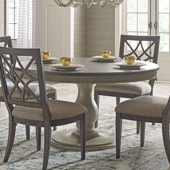Savona Octavia Dining Table In 2020 Round Dining Room Pedestal