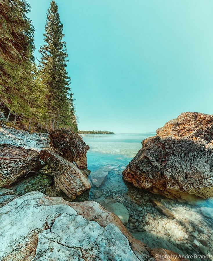The Caves, Clearwater Lake Provincial Park