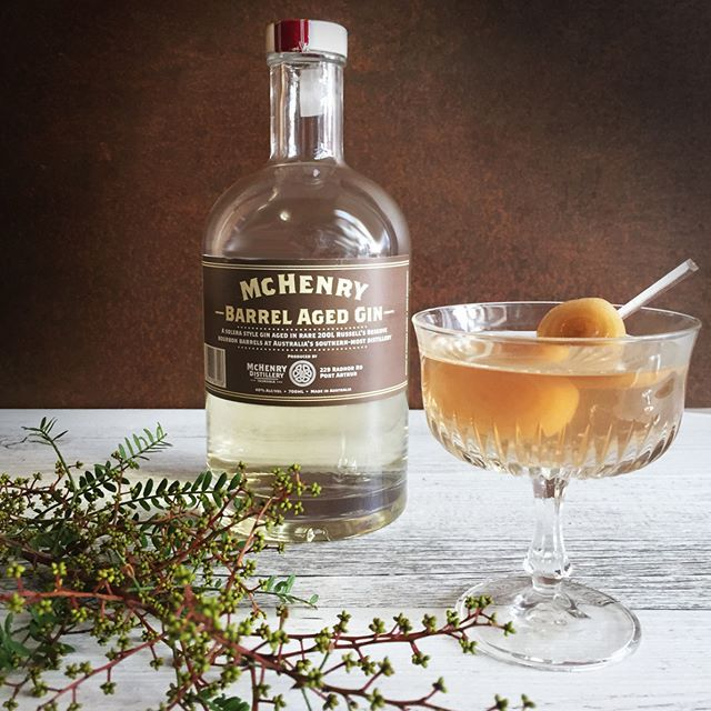 Kiss away those Monday blues with a McHenry Barrel Aged Gin in a Gibson Martini.  Purchase online at www.nipofcourage.com or contact us directly for wholesale enquiries. #AussieGin #AustralianCraftSpirits #AustralianGin #SupportAustralianGin #AussieCraftGin #SupportAustralianCraftDistillers #supportaustraliandistillers #SmallBatch #McHenryDistillery #Martini #GibsonMartini #Gibson #NipOfCourage #CocktailPorn #CocktailsOfInstagram #ClassicCocktail #BarrelAgedGin McHenryGin