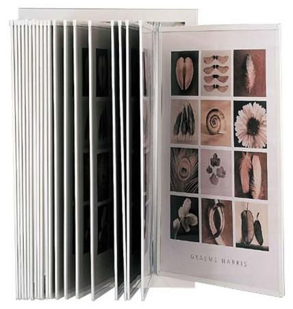 Metal 20 Pocket Flip Display - CREATES 40 document views