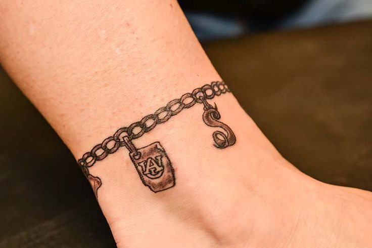 charm bracelet tattoos for wrist - Google Search