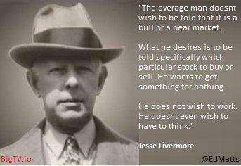 Jesse Livermore The Average Man