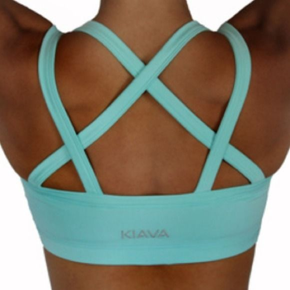 """Kiava Endurance Bra (Not Lululemon) Never worn: """"Endurance Bra – This unique crisscross design is not only eye catching, but it provides maximum support for any HIGH Impact activities which require """"things"""" to stay in place.  From the light lining to the wider strap in the front, our Endurance Bra has been designed to meet all our needs whether big or small."""" lululemon athletica Tops"""