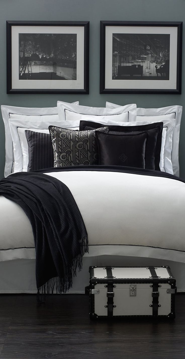 Ralph Lauren Chairman Bed Collection   See more inspirations and ideas for your bedroom decor in http://www.bocadolobo.com/en/master-bedroom-collection/