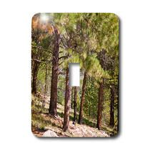 3dRose - Jos Fauxtographee Trees - Trees in a forest in Dixie National Park, Utah - Light Switch Covers