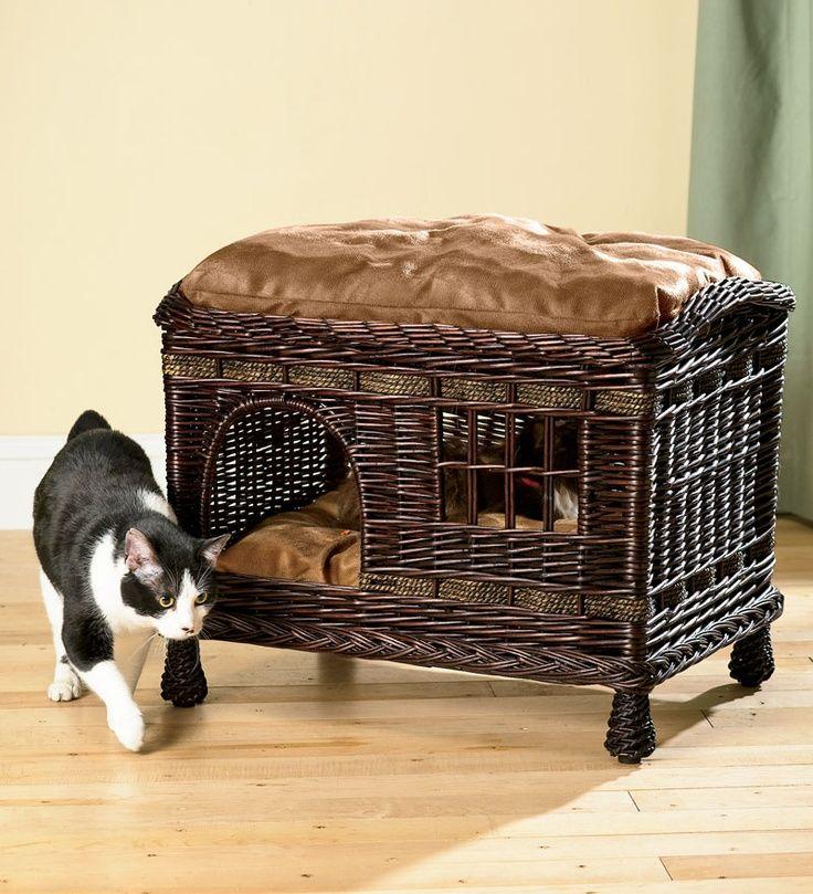 14 Awesome Wicker Cat Furniture Designer