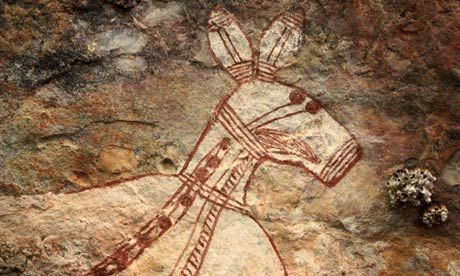Australian uranium discovery threatens ancient indigenous cave art -   A significant deposit has been found in a remote Australian mountain range near some of the oldest rock art on the planet but greedy miners and the nuclear industry care more about money than the world's heritage.