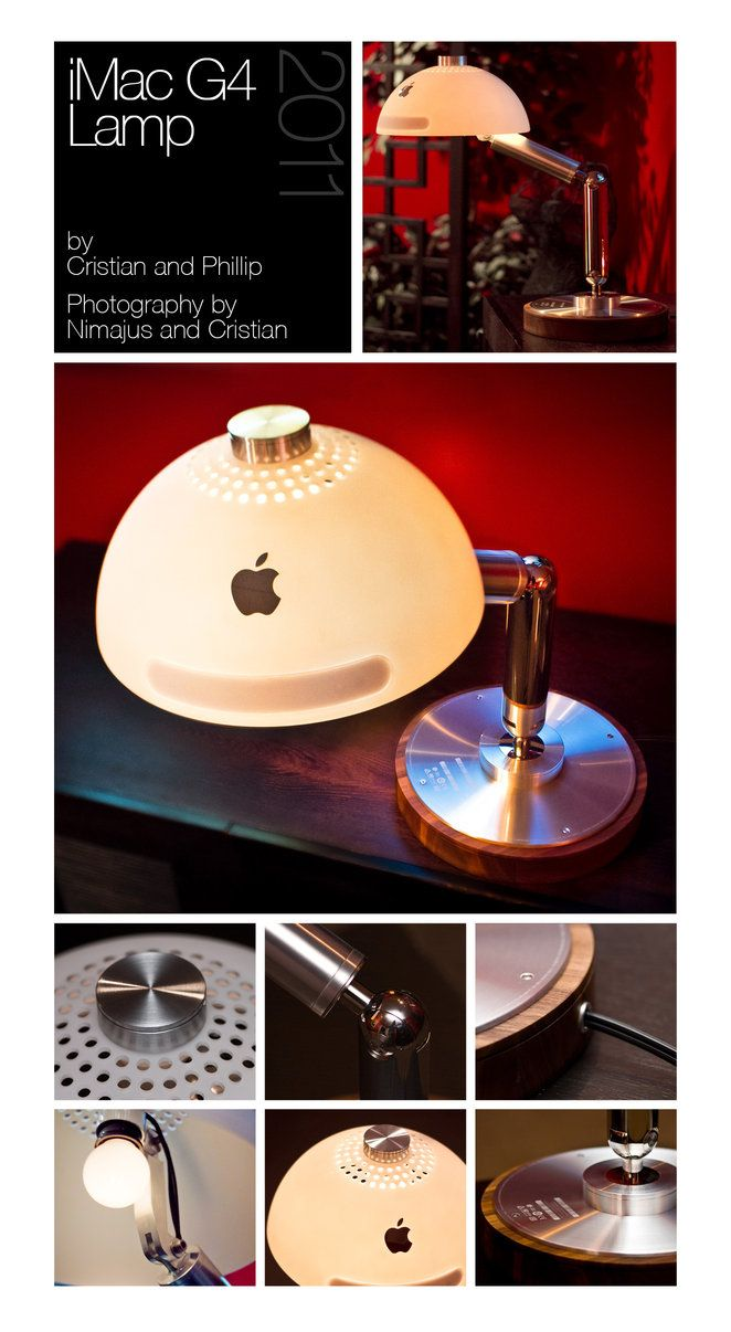 iMac G4 Lamp by dinyctis.deviantart.com on @DeviantArt