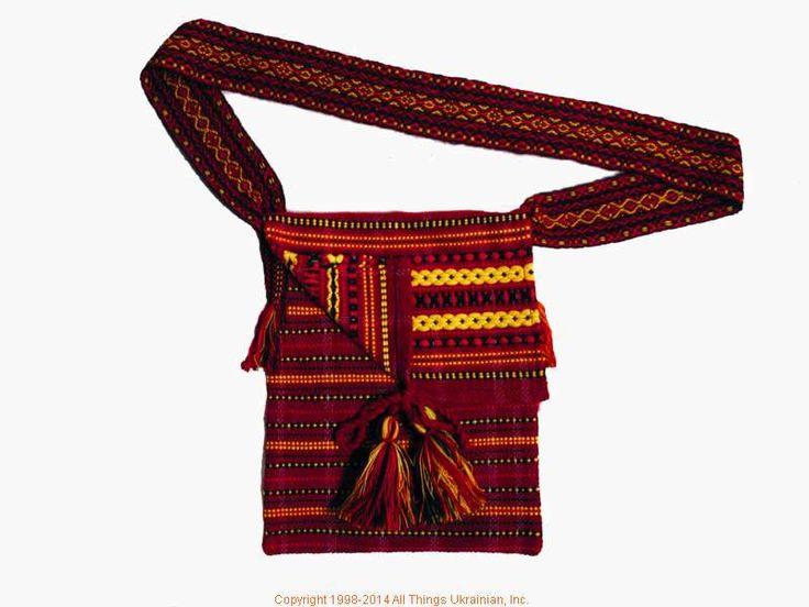 Handmade and hand woven Ukrainian over the shoulder handbag # HB14-54 Sold on  https://www.allthingsukrainian.com/Cloth/handbags/Thumb/Page1.php