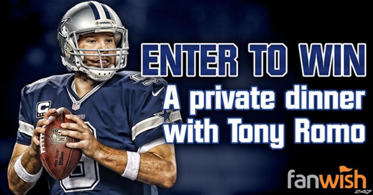 You and a guest are cordially invited to attend a Private Party with Tony Romo, Jason Witten, other Cowboy players and the media. This...