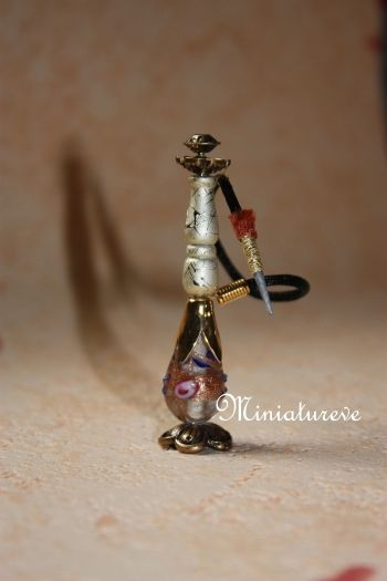 Candle holders, hookah ... - Tutorials for miniature