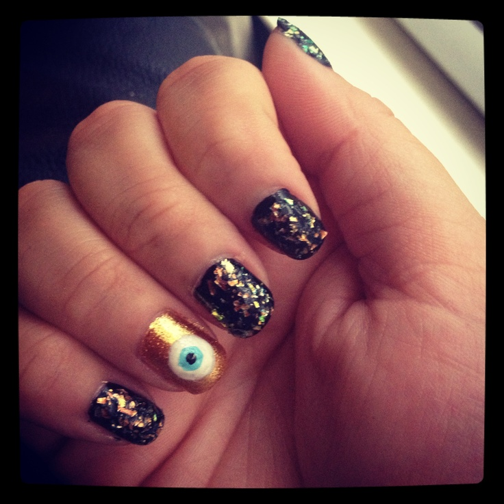 23 best Turkish eye NAILS images on Pinterest | Evil eye nails ...