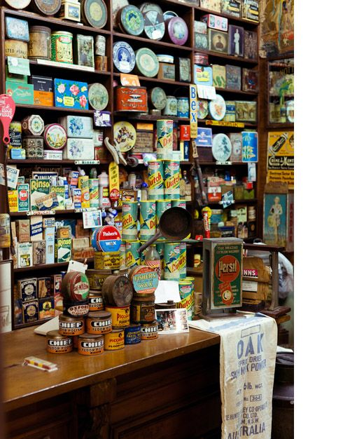 Centenary Antiques Centre 'Vintage Grocery Store Museum' – all photos by Sean Fennessy