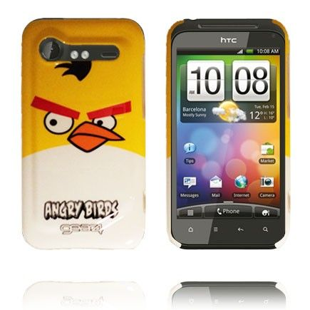 Angry Birds HTC Incredible S Cover (Gul Top)