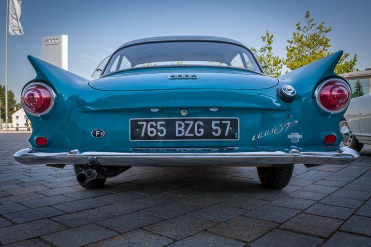 Outside the Audi factory, Inglestodt, Germany