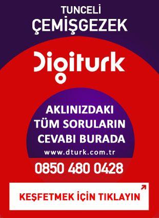 Digiturk Çemişgezek - Servis Satış Noktası - 0428 Tunceli