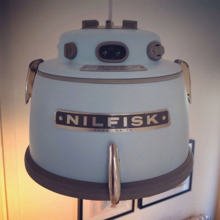 My homemade Nilfisk lamp