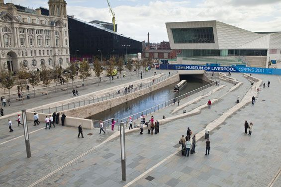Pier Head Public Realm | Liverpool UK | AECOM