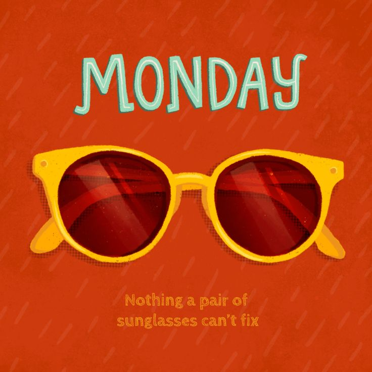 Monday is nothing a great pair of shades can't fix ?? Come
